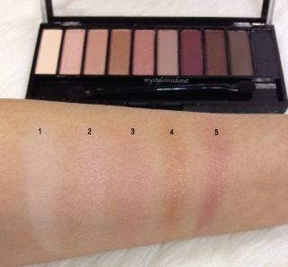 AU Natural Swatches