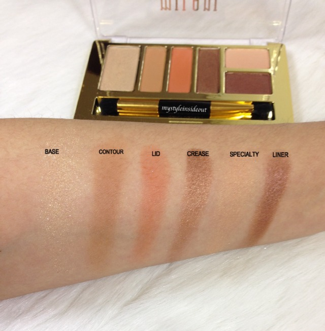 MILANI swatches