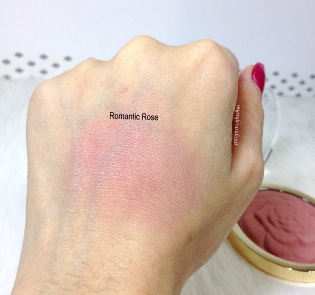 Romantic Rose swatches