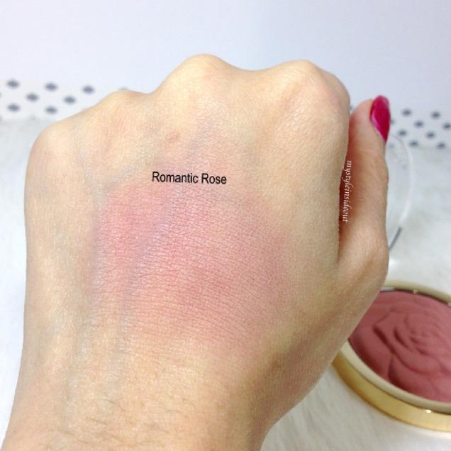 Romantic Rose swatches