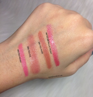 too faced swatches